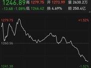 为何壹桥股份从涨停到跌2个点?
