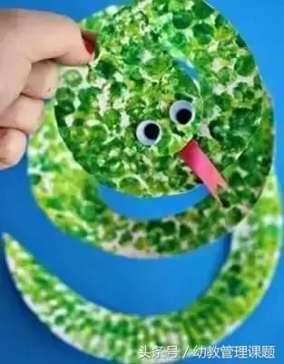 幼儿园气泡膜创意手工绘画,厉害了!