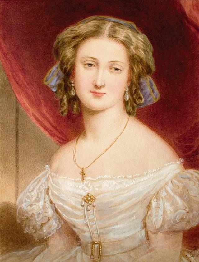 18世纪欧洲宫廷贵妇人物绘画作品欣赏 哈哈哈 第1张