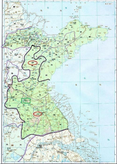 华县县城地图全图