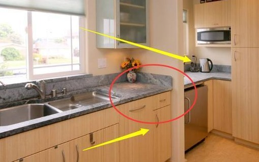 厨房橱柜万万不能选这几种颜色,财运进不了大门,预示会越来越穷!