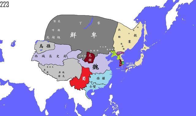 南面占领了海南岛.把中国周围凡是适合人类生存的地方都占领了.
