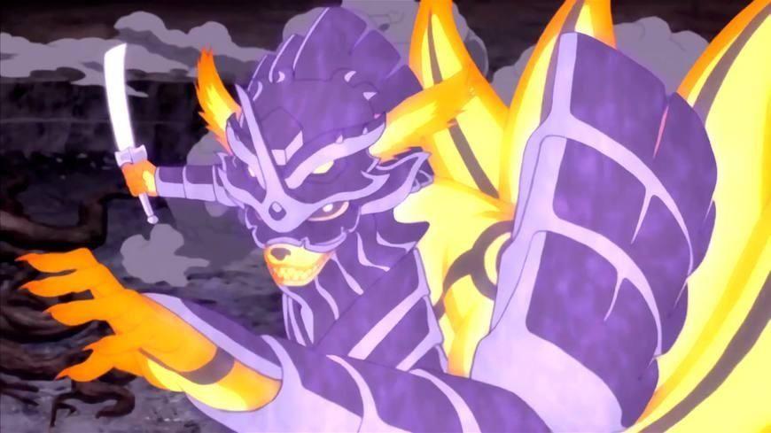 火影忍者:除威装须佐外,鸣人共合体3次,第一种全靠鸣人臆想!