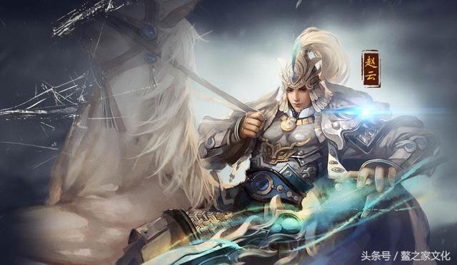 """""""果然,赵云怀抱刘备的幼子刘禅,保护着刘备的妻子甘夫人,平安地回到"""