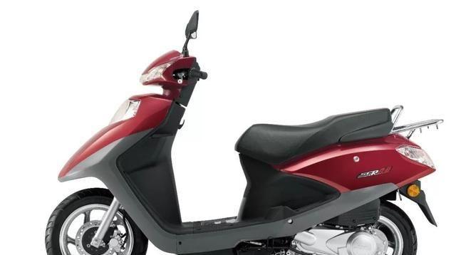 本田实用型100踏板,5.3kW引擎质保5万公里+碟刹,6680元