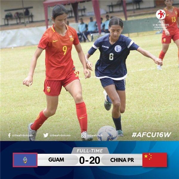 中国女足打出20-0超级悬殊比分,男足汗颜吗