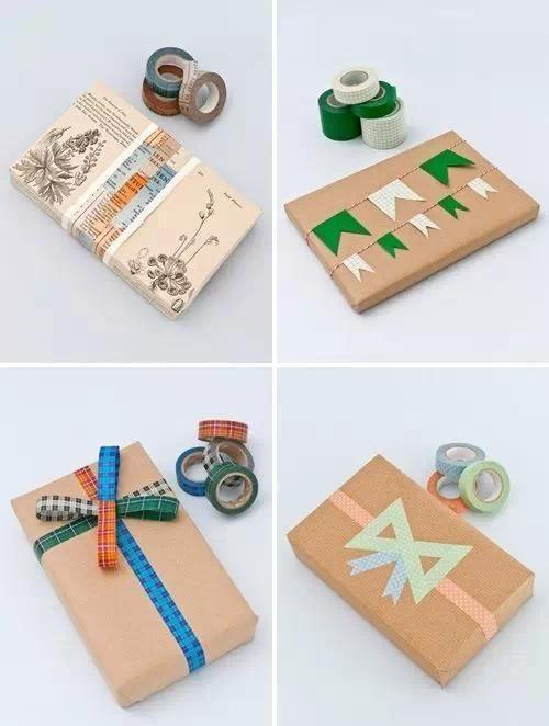 学起来,包装礼物盒的方法步骤