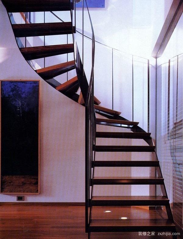 这些漂亮的阁楼楼梯设计,家里有阁楼还不赶紧用起来图片
