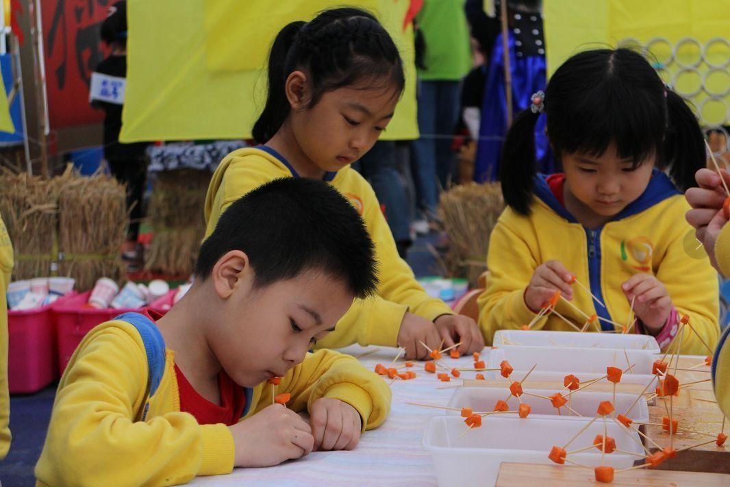 区区域游戏化课程成果展示和大渡口幼儿园半岛逸景园户外游戏现场.