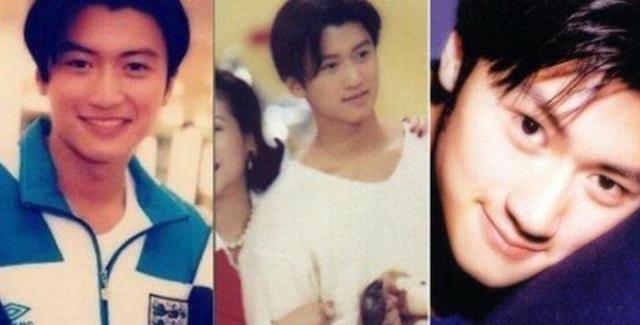 黄晓明年轻时,谢霆锋年轻时,钟汉良年轻时,这真是他们图片