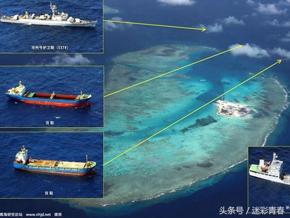 赤瓜岛是中国南海填海造陆庞大工程的一个缩影.