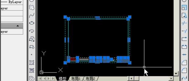 在cad坐标中导入图框插入布局三维如何cad图片