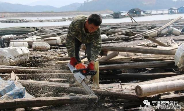 滚动:宁德福鼎清理500多口废旧传统渔排而且还在一个村咋回事