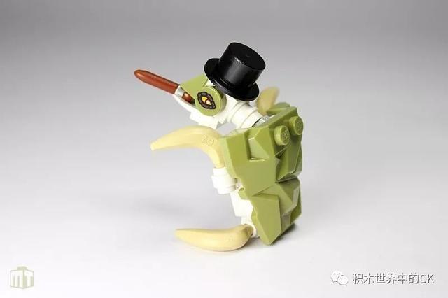 乐高moc 用乐高积木搭成的小动物也是非常可爱的哦