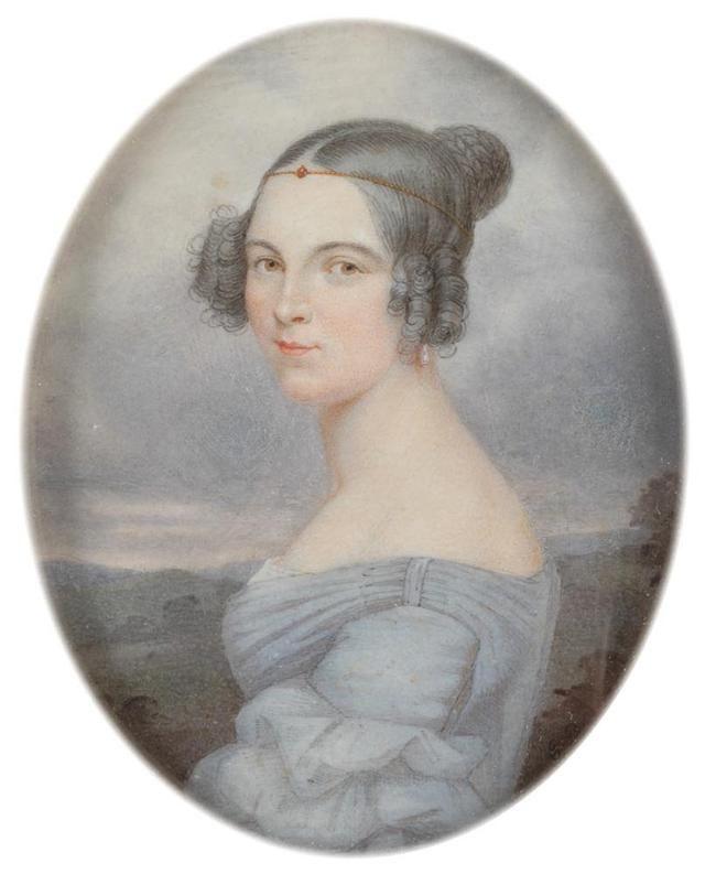 18世纪欧洲宫廷贵妇人物绘画作品欣赏 哈哈哈 第18张