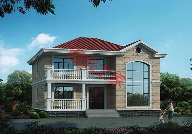5套农村二层别墅设计,大气实用又接地气,喜欢就收藏吧