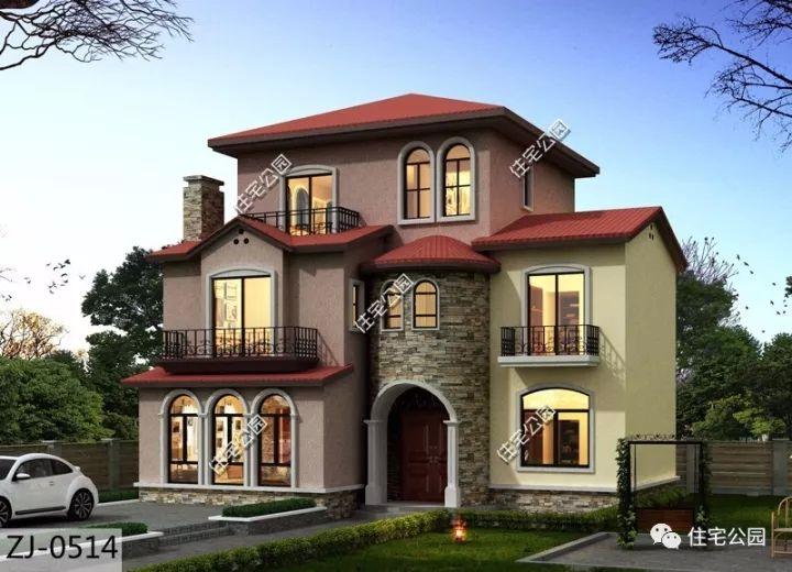 10套农村别墅图纸合集,老百姓就该建这样的房子,实用又美观