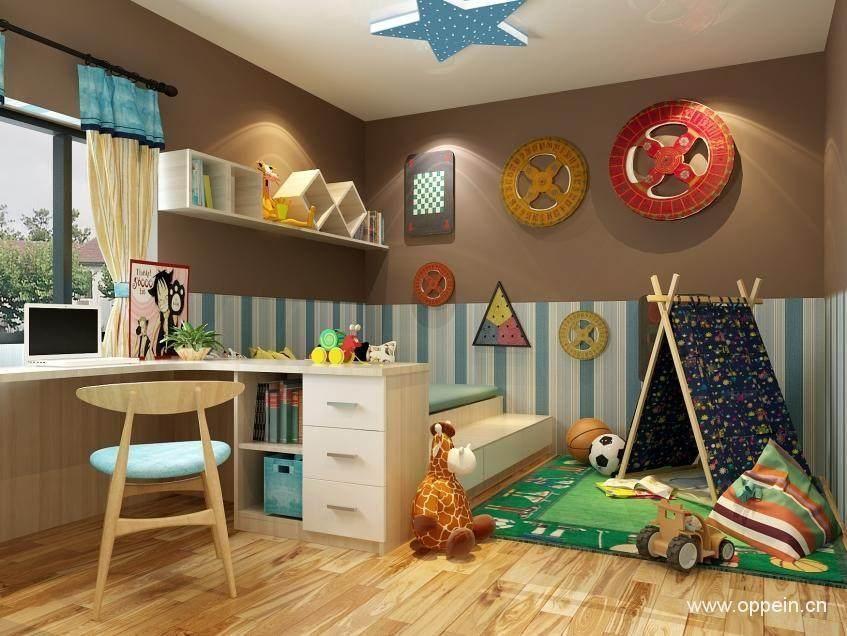 小两房一厅装修效果图案例 60平打造小夫妻的幸福窝