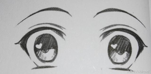 漫画中人物眼睛的画法