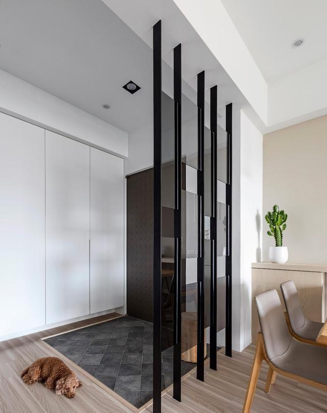 小户型房子装修,全屋白色柜子设计,好看又实用