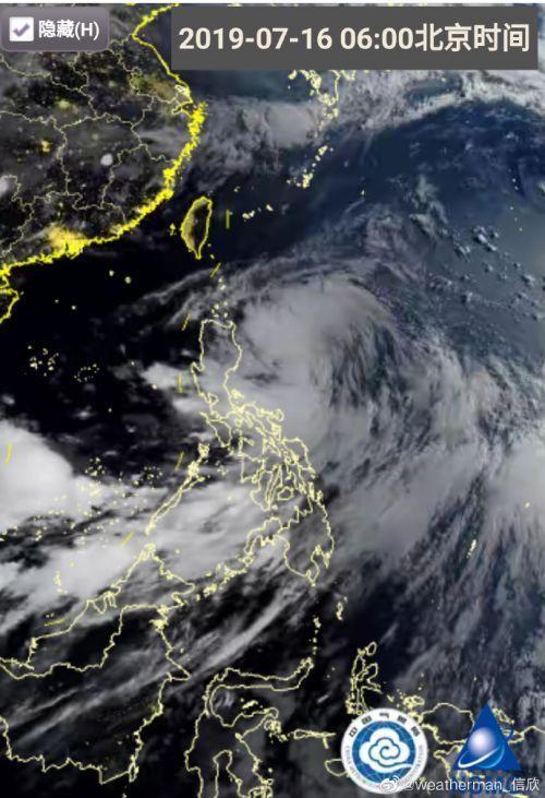 今年第5号台风今天或生成 丹娜丝卫星云图最新动向