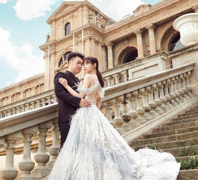 杜海涛沈梦辰婚纱照,胖子也是有潜力的,网友:这么帅吗?