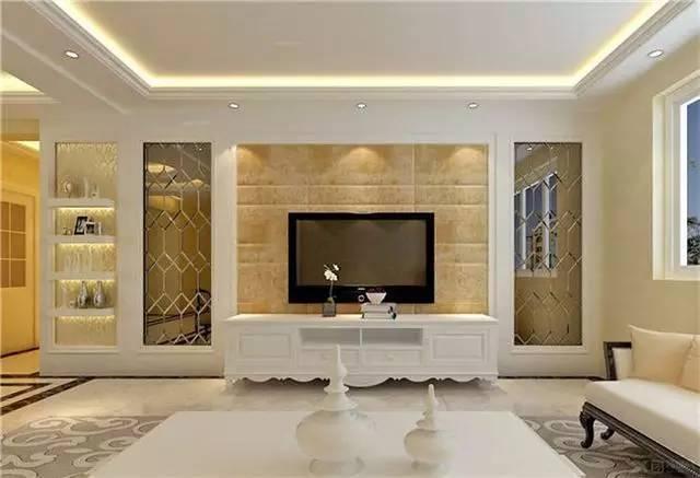 客厅电视背景墙设计牵动着千万装修家庭的心,因为电视背景墙在客厅