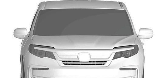 本田Pilot专利图曝光, 有望年内国产上市, 和汉兰达展开竞争!