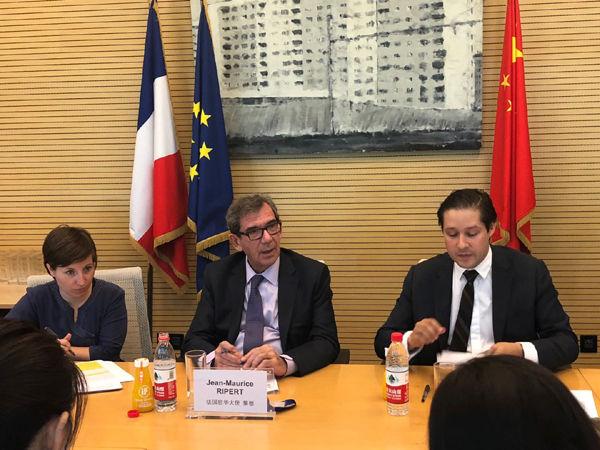 法国驻华大使黎想:法中建交55周年合作成果丰硕 支持第二届进博会