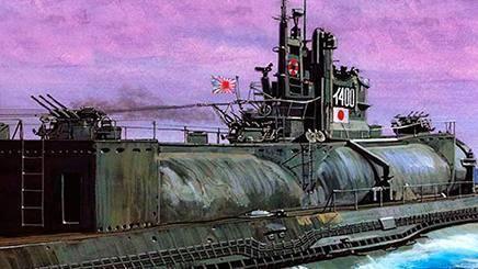 全球首艘水下航母,航程7万公里绕地球1圈,装3架轰炸机偷袭美国