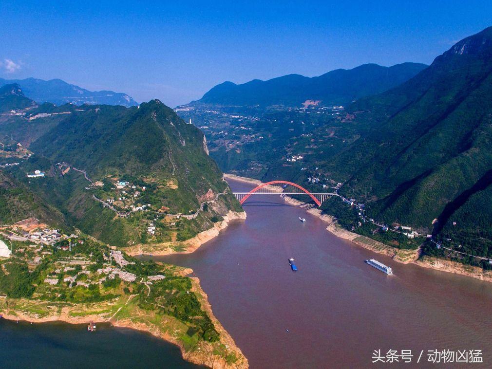 实拍重庆长江三峡库区的视频复绿生态舞状况格格图片