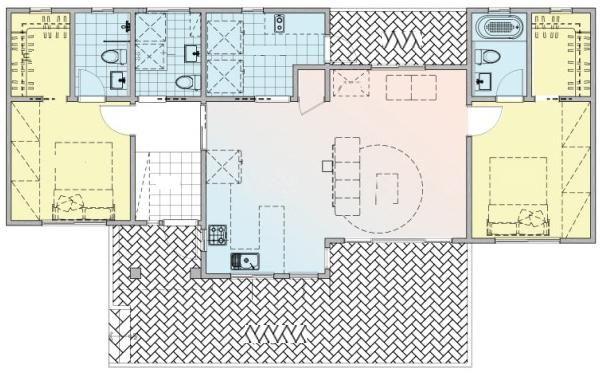 60平宅基地盖房,外挂大露台?如此设计你想到过吗?