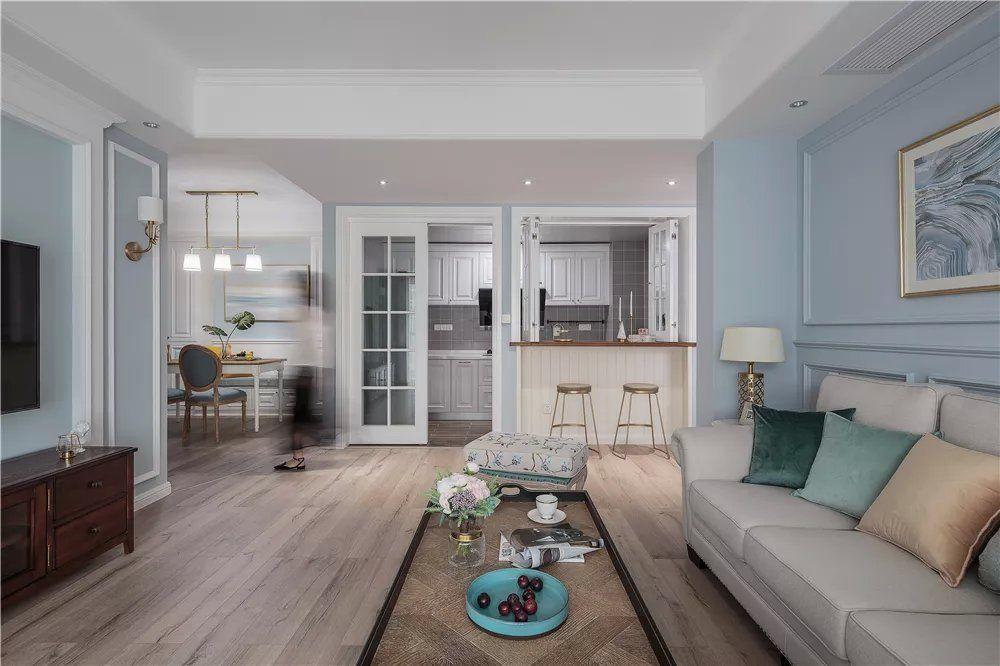现代美式,半开放式的椅子,情趣实用的v椅子酒店厨房情趣图片