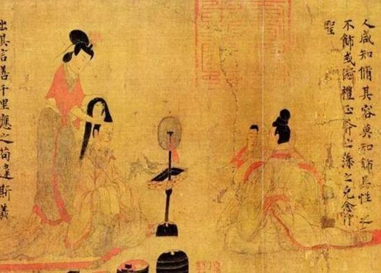 杨幂烟熏妆走红毯,跟古代妆容比起来,哪个更好看