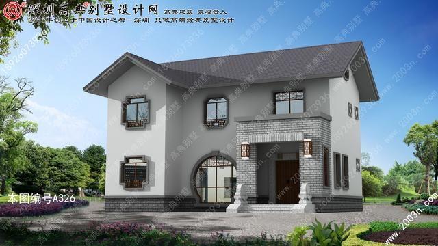 农村二层房屋设计图最合适乡下小土豪玄耀
