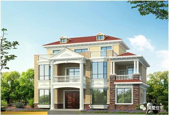 吸睛的2套兩層農村自建房別墅,第1套像皇宮,第2套18萬建