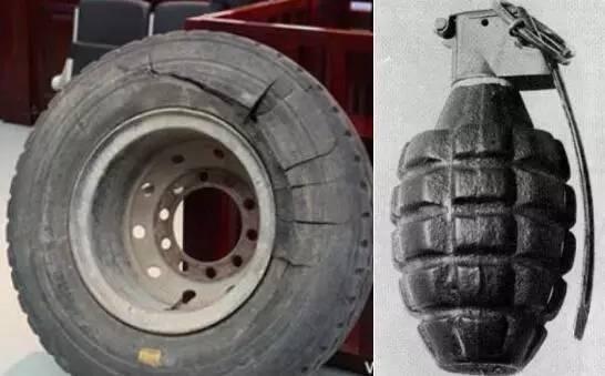 补胎时轮胎突然爆炸,男子被炸飞不幸身亡大车爆胎威力图片