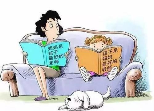 做作业,最忌说教,这样让孩子产生依赖性不说,还会慢慢对主动学习一点