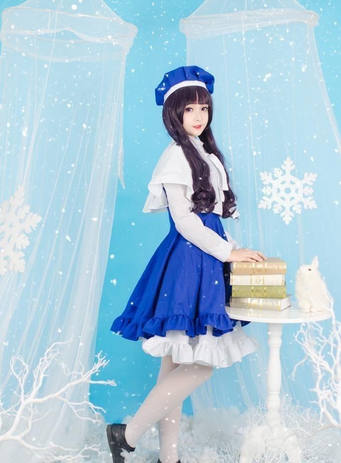 可爱小仙女白色丝袜展现清澈纯真的美插图(8)