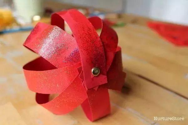 幼儿园春节吊饰,手工,红红火火等过年!