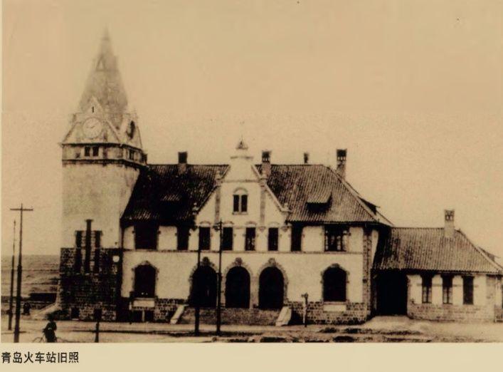 在《胶澳租界条约》里,清政府规定由德国在山东修筑胶济铁路.