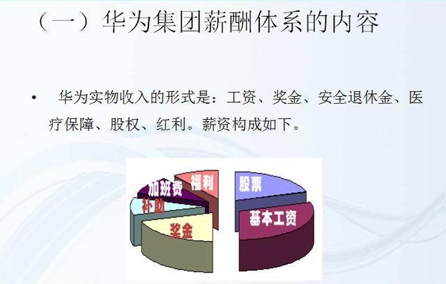 华为:薪酬福利体系