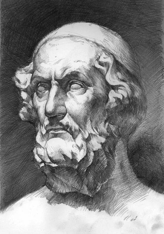 素描多元化指铅笔画和炭笔画.素描是一切绘画的基础,这是研究绘画