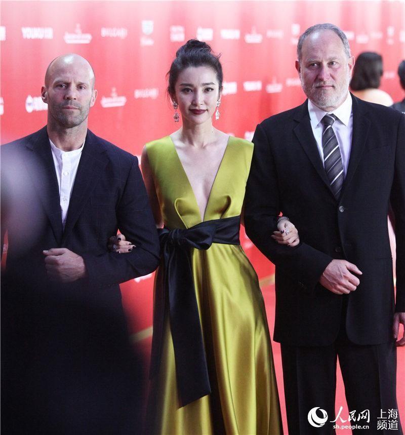 2018上海国际电影节开幕 杰森斯坦森牵手李冰冰亮相图片