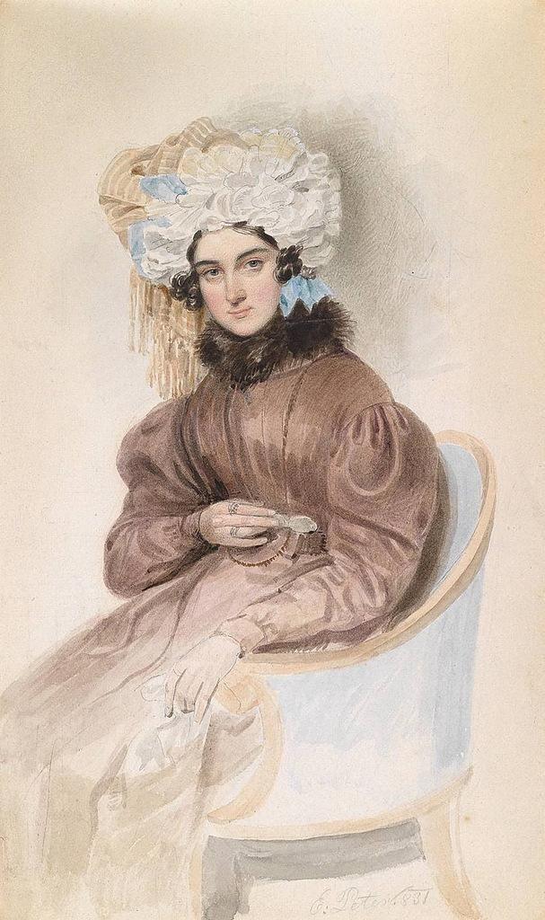 18世纪欧洲宫廷贵妇人物绘画作品欣赏 哈哈哈 第15张