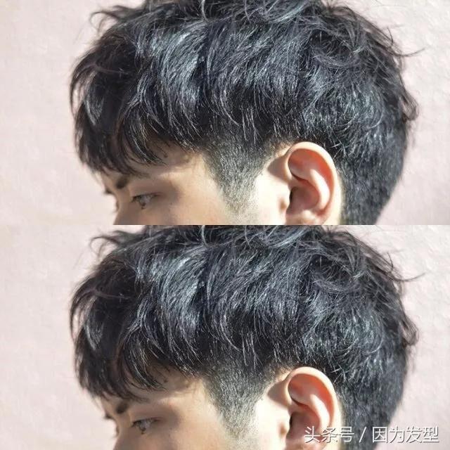 最新流行男士发型 2018最新流行男士发型,很多女生选择男朋友第一个图片