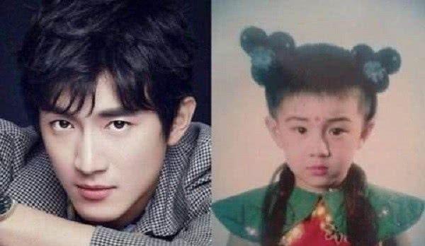 男星的童年照,林更新可爱,李易峰帅气,看到王嘉尔不心动都难