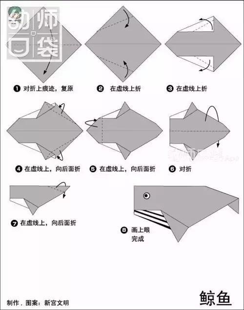 幼儿园必备!动物折纸大全,简单易学!