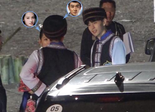疑似吴尊老婆被曝光,邓伦李沁还组成临时爸妈
