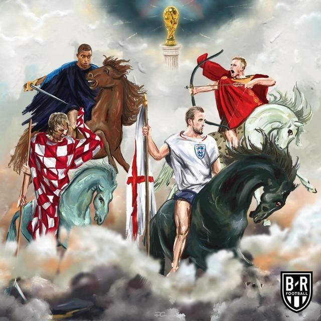 2018年俄罗斯世界杯4强出炉:法国vs比利时,克